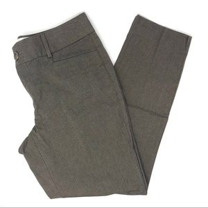 Banana Republic Jackson Fit Brown Skinny Pants